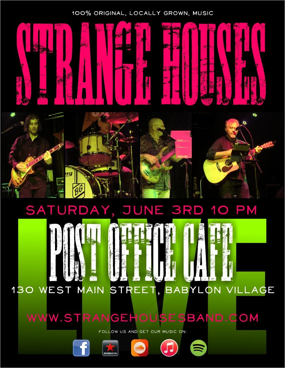 strangehouses live postoffice